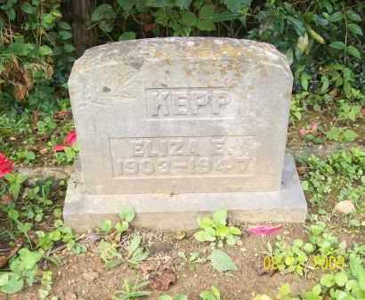 KEPP, ELIZA E - Adams County, Ohio | ELIZA E KEPP - Ohio Gravestone Photos