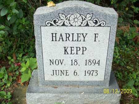 KEPPS, HARLEY F - Adams County, Ohio | HARLEY F KEPPS - Ohio Gravestone Photos