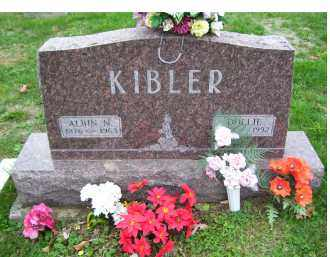 KIBLER, ALBIN N. - Adams County, Ohio | ALBIN N. KIBLER - Ohio Gravestone Photos