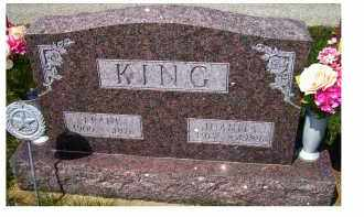 KING, FRANK - Adams County, Ohio   FRANK KING - Ohio Gravestone Photos