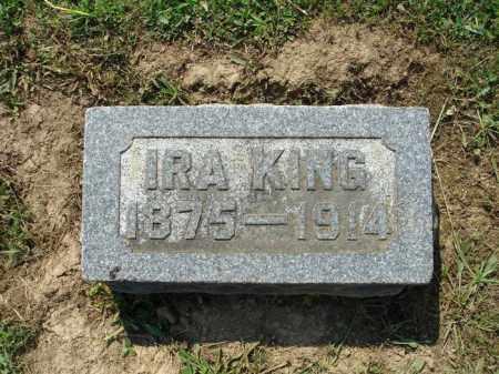 KING, IRA - Adams County, Ohio | IRA KING - Ohio Gravestone Photos