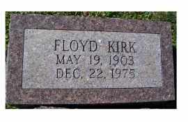 KIRK, FLOYD - Adams County, Ohio   FLOYD KIRK - Ohio Gravestone Photos