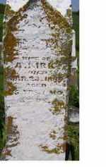 KIRK, MARY - Adams County, Ohio   MARY KIRK - Ohio Gravestone Photos