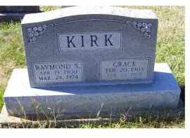 KIRK, GRACE - Adams County, Ohio | GRACE KIRK - Ohio Gravestone Photos