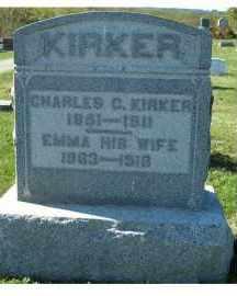 KIRKER, CHARLES C. - Adams County, Ohio   CHARLES C. KIRKER - Ohio Gravestone Photos