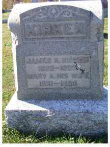 KIRKER, JAMES A. - Adams County, Ohio | JAMES A. KIRKER - Ohio Gravestone Photos
