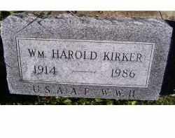 KIRKER, WM. HAROLD - Adams County, Ohio | WM. HAROLD KIRKER - Ohio Gravestone Photos