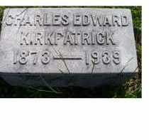 KIRKPATRICK, CHARLES EDWARD - Adams County, Ohio | CHARLES EDWARD KIRKPATRICK - Ohio Gravestone Photos