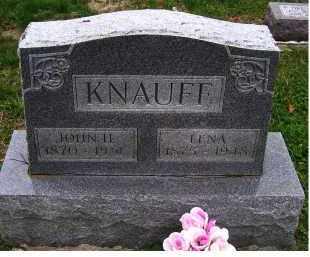 KNAUFF, JOHN H. - Adams County, Ohio | JOHN H. KNAUFF - Ohio Gravestone Photos