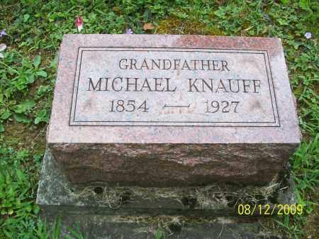 KNAUFF, MICHAEL - Adams County, Ohio | MICHAEL KNAUFF - Ohio Gravestone Photos