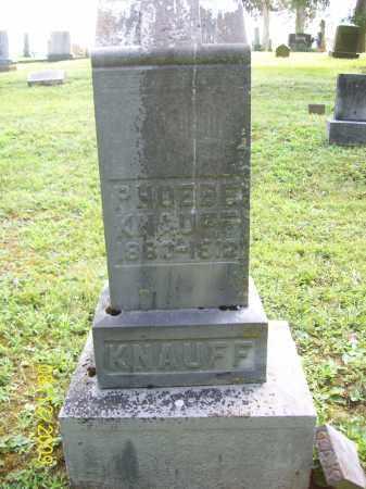KNAUFF, PHOEBE - Adams County, Ohio | PHOEBE KNAUFF - Ohio Gravestone Photos