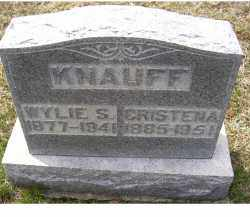 KNAUFF, CRISTENA - Adams County, Ohio | CRISTENA KNAUFF - Ohio Gravestone Photos
