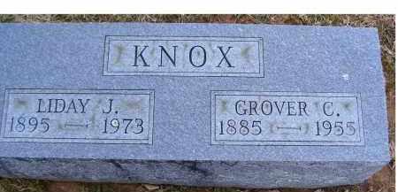 KNOX, LIDAY J. - Adams County, Ohio | LIDAY J. KNOX - Ohio Gravestone Photos