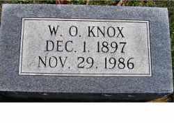 KNOX, W. O. - Adams County, Ohio | W. O. KNOX - Ohio Gravestone Photos