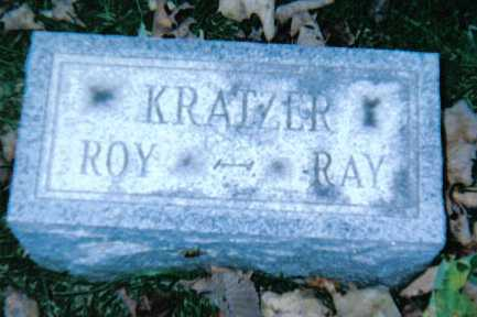 KRATZER, RAY - Adams County, Ohio   RAY KRATZER - Ohio Gravestone Photos