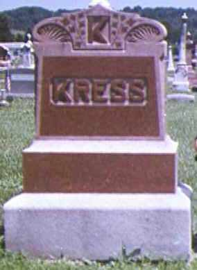 COLBERT KRESS, MARY JANE - Adams County, Ohio | MARY JANE COLBERT KRESS - Ohio Gravestone Photos