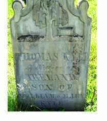 KYLE, THOMAS - Adams County, Ohio | THOMAS KYLE - Ohio Gravestone Photos