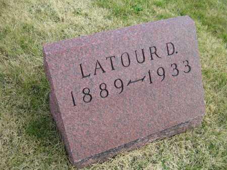 LAFFERTY, LATOUR D. - Adams County, Ohio | LATOUR D. LAFFERTY - Ohio Gravestone Photos