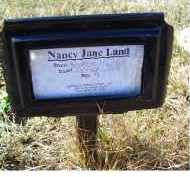 LAND, NANCY JANE - Adams County, Ohio | NANCY JANE LAND - Ohio Gravestone Photos