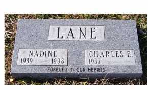 LANE, CHARLES E. - Adams County, Ohio | CHARLES E. LANE - Ohio Gravestone Photos