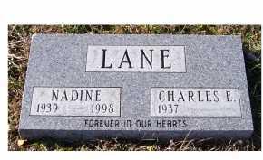LANE, NADINE - Adams County, Ohio   NADINE LANE - Ohio Gravestone Photos