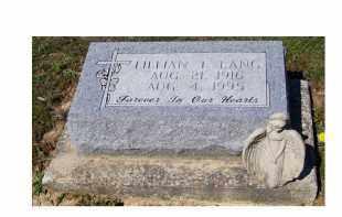 LANG, LILLIAN T. - Adams County, Ohio   LILLIAN T. LANG - Ohio Gravestone Photos