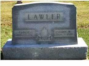 LAWLER, JOHN W. - Adams County, Ohio | JOHN W. LAWLER - Ohio Gravestone Photos