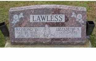 LAWLESS, RAYMOND D. - Adams County, Ohio | RAYMOND D. LAWLESS - Ohio Gravestone Photos