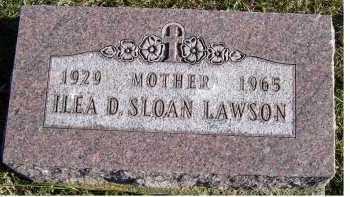 LAWSON, ILEA D. - Adams County, Ohio   ILEA D. LAWSON - Ohio Gravestone Photos