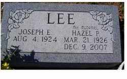LEE, JOSEPH E. - Adams County, Ohio | JOSEPH E. LEE - Ohio Gravestone Photos