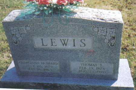 HUBBARD LEWIS, GEORGIANA - Adams County, Ohio | GEORGIANA HUBBARD LEWIS - Ohio Gravestone Photos