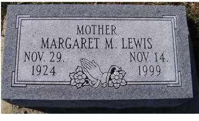 LEWIS, MARGARET M. - Adams County, Ohio   MARGARET M. LEWIS - Ohio Gravestone Photos