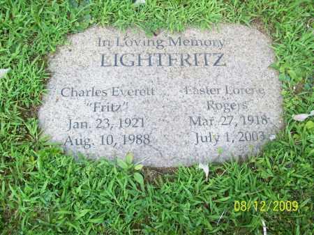 ROGERS LIGHTFRITZ, EASTER LORENE - Adams County, Ohio | EASTER LORENE ROGERS LIGHTFRITZ - Ohio Gravestone Photos