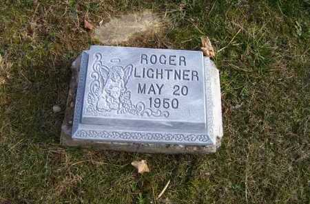 LIGHTNER, ROGER - Adams County, Ohio | ROGER LIGHTNER - Ohio Gravestone Photos