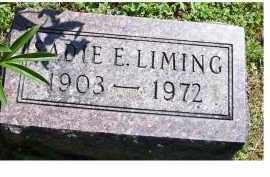 LIMING, SADIE E. - Adams County, Ohio | SADIE E. LIMING - Ohio Gravestone Photos