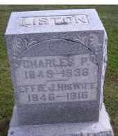LISTON, EFFIE J. - Adams County, Ohio | EFFIE J. LISTON - Ohio Gravestone Photos