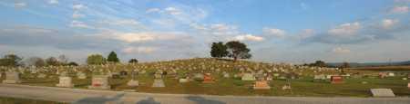 LOCUST GROVE, CEMETERY PANAROMA VIEW - Adams County, Ohio | CEMETERY PANAROMA VIEW LOCUST GROVE - Ohio Gravestone Photos