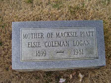 LOGAN, ELSIE - Adams County, Ohio | ELSIE LOGAN - Ohio Gravestone Photos