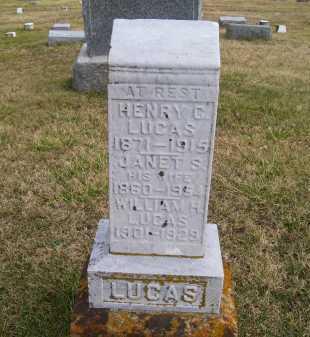 LUCAS, JANET S. - Adams County, Ohio | JANET S. LUCAS - Ohio Gravestone Photos