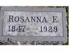MAHAFFEY, ROSANNA E. - Adams County, Ohio | ROSANNA E. MAHAFFEY - Ohio Gravestone Photos