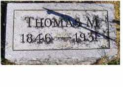 MAHAFFEY, THOMAS M. - Adams County, Ohio | THOMAS M. MAHAFFEY - Ohio Gravestone Photos