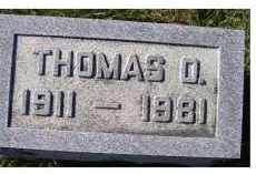 MAHAFFEY, THOMAS O. - Adams County, Ohio   THOMAS O. MAHAFFEY - Ohio Gravestone Photos