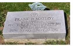 MALLOY, FRANK D. - Adams County, Ohio   FRANK D. MALLOY - Ohio Gravestone Photos