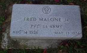 MALONE, FRED JR. - Adams County, Ohio | FRED JR. MALONE - Ohio Gravestone Photos