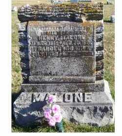 MALONE, FRANCES - Adams County, Ohio | FRANCES MALONE - Ohio Gravestone Photos