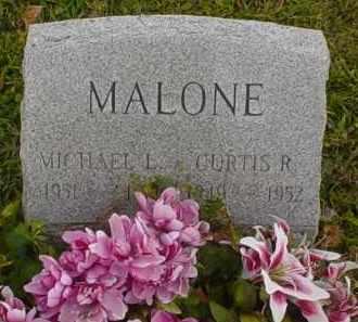 MALONE, MICHAEL L. - Adams County, Ohio | MICHAEL L. MALONE - Ohio Gravestone Photos