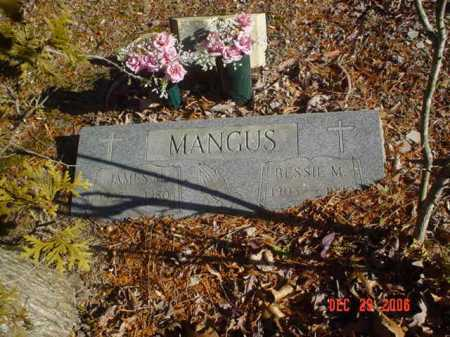 MANGUS, BESSIE M. - Adams County, Ohio | BESSIE M. MANGUS - Ohio Gravestone Photos