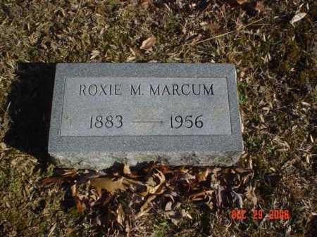 MARCUM, ROXIE M. - Adams County, Ohio | ROXIE M. MARCUM - Ohio Gravestone Photos
