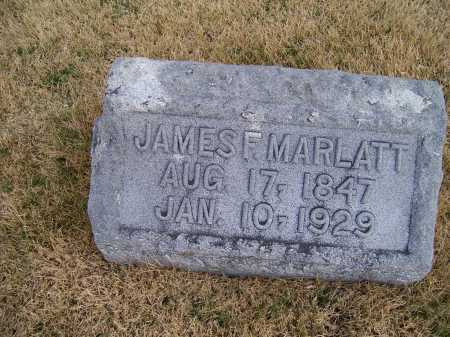 MARLATT, JAMES F. - Adams County, Ohio | JAMES F. MARLATT - Ohio Gravestone Photos