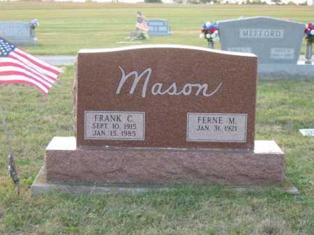 MASON, FRANK C. - Adams County, Ohio   FRANK C. MASON - Ohio Gravestone Photos